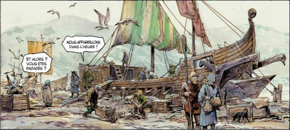 thorgal le bateau sabre